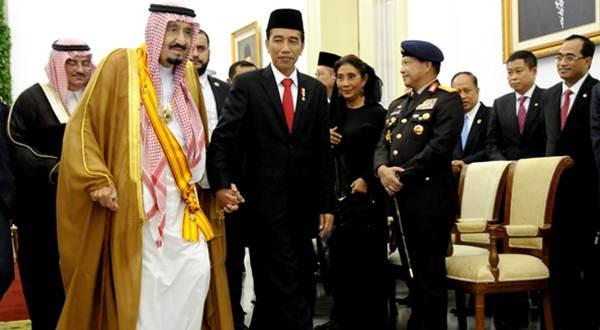 Raja Salman Jokowi Indonesia Arab Saudi