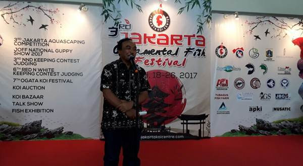 Slamet Soebjakto Jakarta Ornamental Fish Festival
