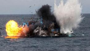 Pengawas Kementerian Kelautan dan Perikanan Tangkap Kapal Ilegal Malaysia