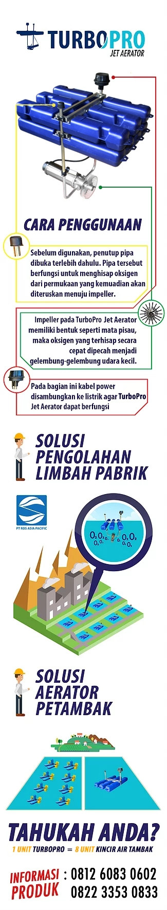 jual aerator air limbah