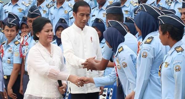 presiden Jokowi SUPM Waiheru