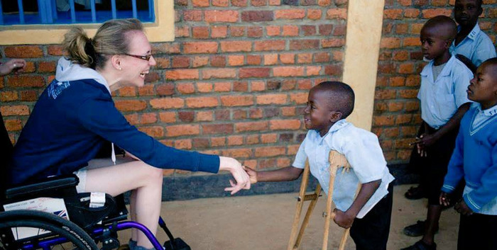 Reaching out in Rwanda