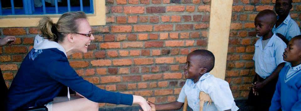 Reaching out in Rwanda