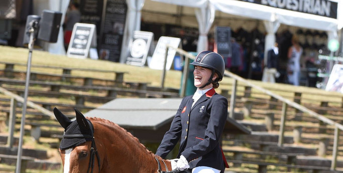 Hartpury International and WEG selection - July 2018