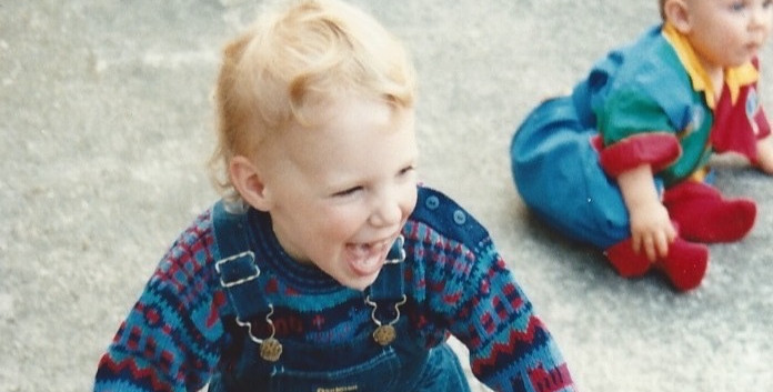 Sophie as a child