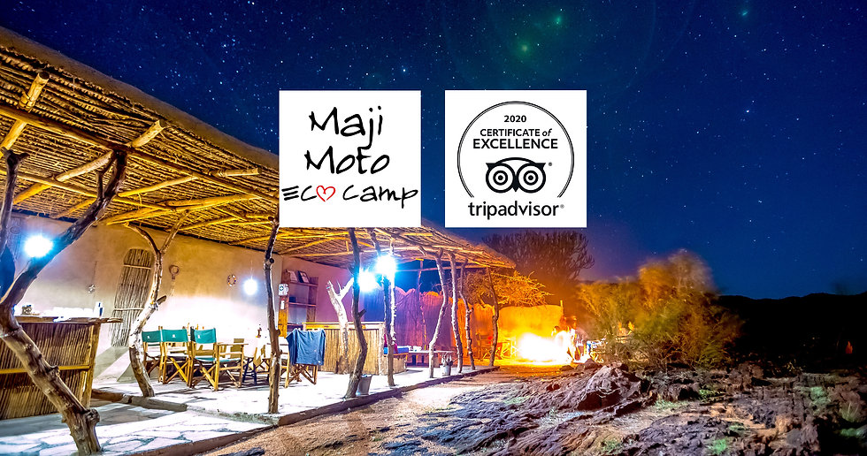 Featuring panoramic views of the surrounding savannah plains, Maji Moto Eco Camp offers eco-friendly accommodation and all-inclusive day trips and activities.