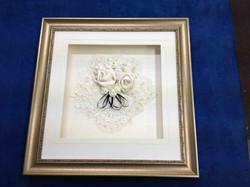 Object box- Framed wedding memorabilia- Milfor Framers.jpg