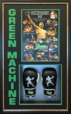 Memorabilia Framing-sports-Danny Green boxing gloves IMG_2929 copy