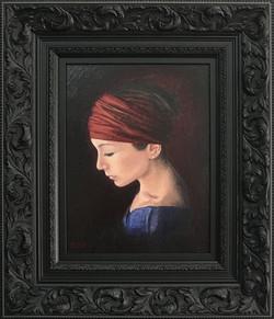Ornate Frame- Black- Oil Painting