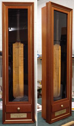 Cricket Memorabilia- Milford Framers. Signed by Bradman et. al. ustom Framing