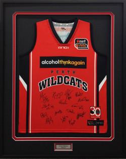 Memorabilia Framing-sports-Wildcats IMG_0144 copy