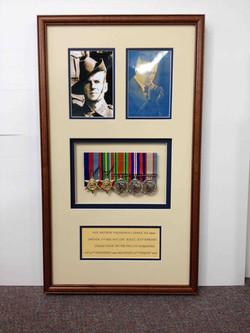 Military Memorabilia- Milford Framers