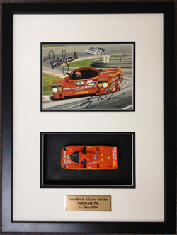 Racing Memorabilia- Milford Framers