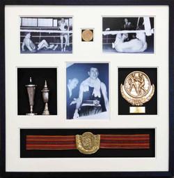 Memorabilia Framing-sports-boxing-title belt- Milford Framers copy