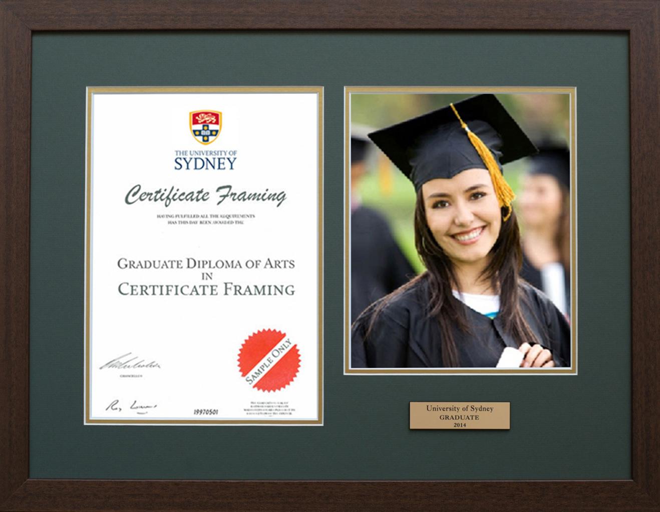 Graduation Certificate Frames