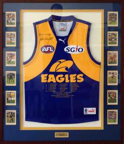 Memorabilia Framing-sports- Eagles Jumper 3 copy