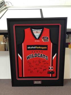Sports memorabilia- Perth Wildcats- Milford Framers
