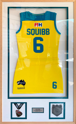 Memorabilia Framing-sports-Hockeyroo-Penny Squib