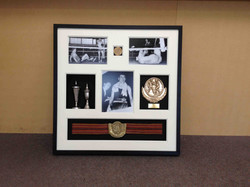 Object box- boxing Memorabilia- Milford Framers