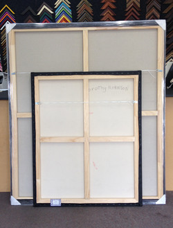 Canvas Stretching- milford Framers 1