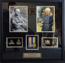 War Memorabilia- Milford Framers