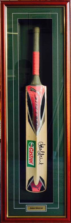 Cricket Memorabilia- Milford Framers