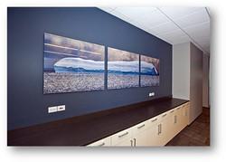 Corporate Framing-Boardroom- Milford Framers