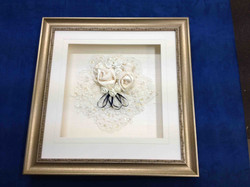 Object box- Framed wedding memorabilia- Milfor Framers