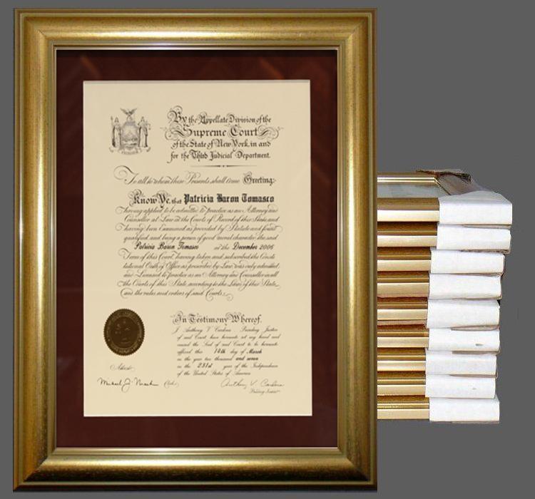 Certificate Frame- Quantity Discount