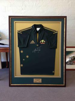 Cricket Memorabilia- Milford Framers- Framed Shirt
