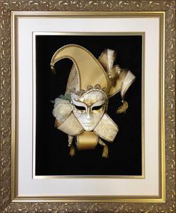 Object Box- Framed Venecian Mask- Milford Framers.jpg