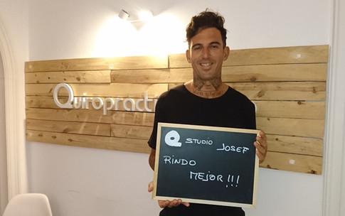 Josef Ajram en el Quiropractic Studio