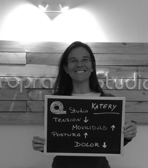 Katery, paciente feliz!