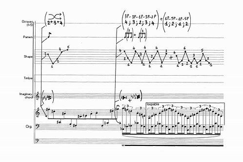 Sequenza - for church organ