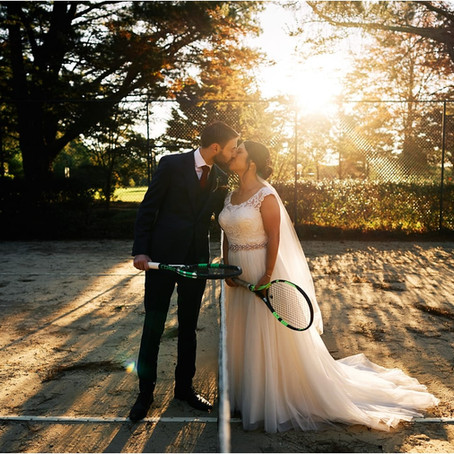 The Grand Slam of Weddings!