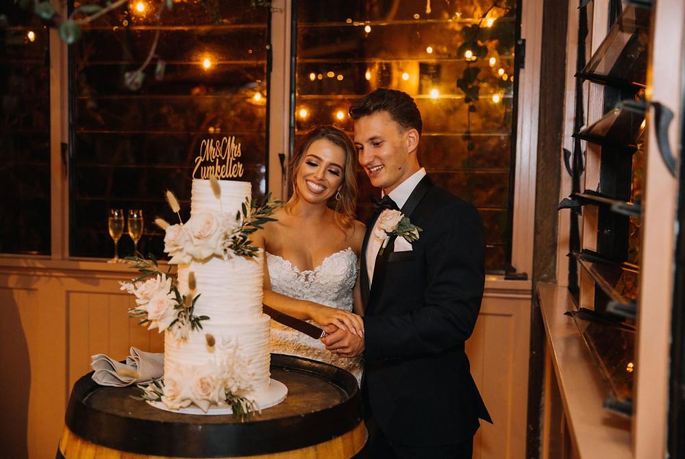 wedding cake cutting cut reception cake topper cake