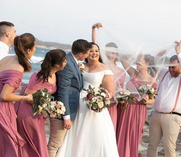 Shani and John | Cronulla | HIRE A BRIDESMAID
