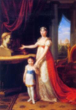 Pietro Benvenuti Ritratto di Elisa Bonap