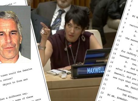 Ghislaine Maxwell Documents Released