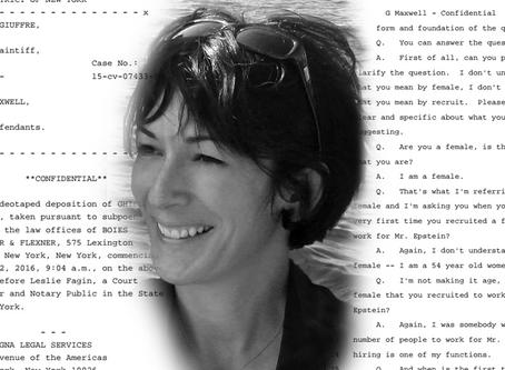BREAKING: Ghislaine Maxwell Deposition Documents Released