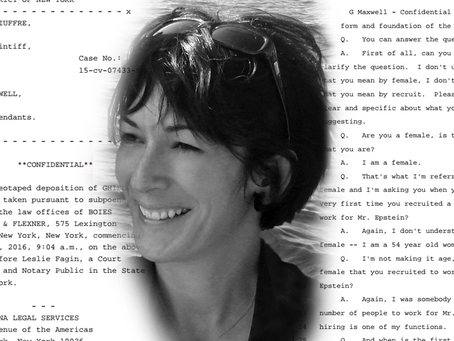BREAKING: Ghislaine Maxwell Deposition Documents Released