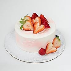 Pink & White Shortcake
