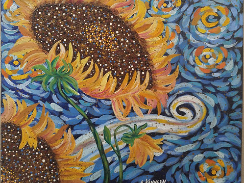 SUNFLOWER SWIRL - SOLD