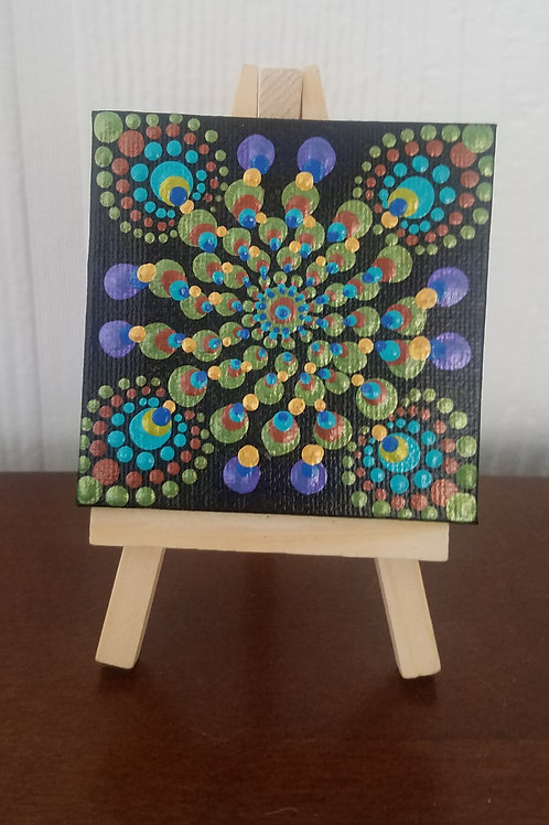 PEACOCK MANDALA MINI