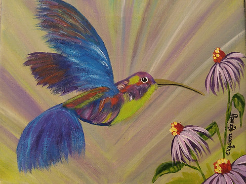 HUMMINGBIRD JOY - SOLD
