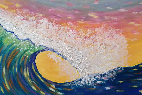 WAVE CURL -SOLD