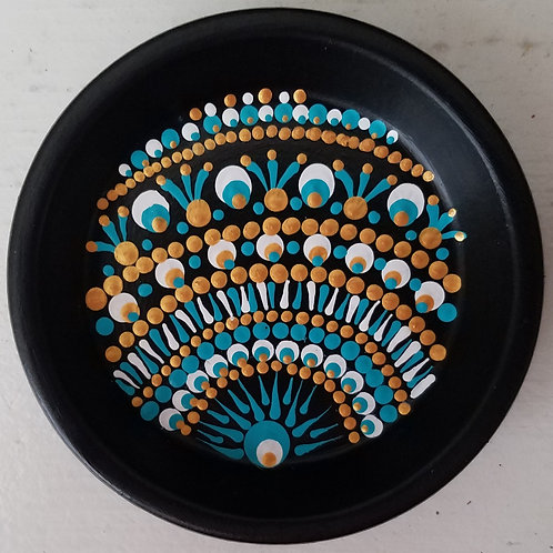 JEWELRY HOLDER TEAL SUN