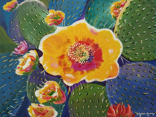 PRICKLY PEAR CACTUS -SOLD