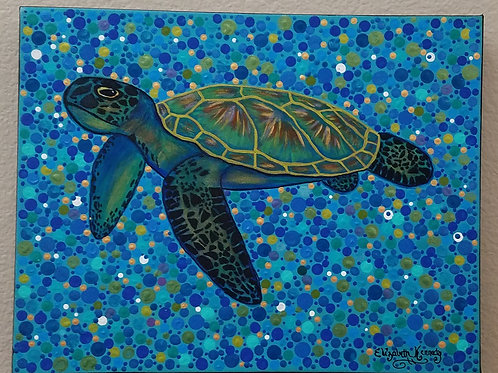 SEA TURTLE 4 DOTS
