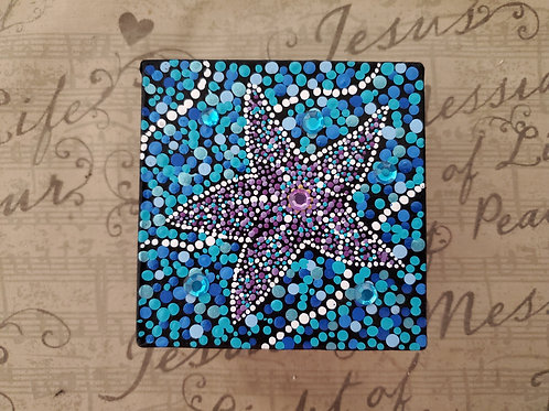 STARFISH DOT MANDALA BOX